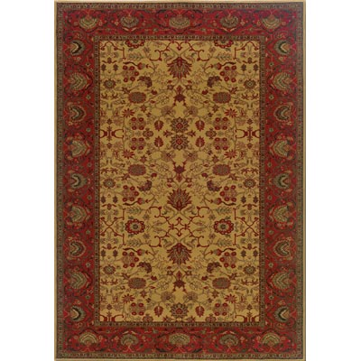 Couristan Everest 5 x 8 Tabriz Harvest Gold 3773/4874