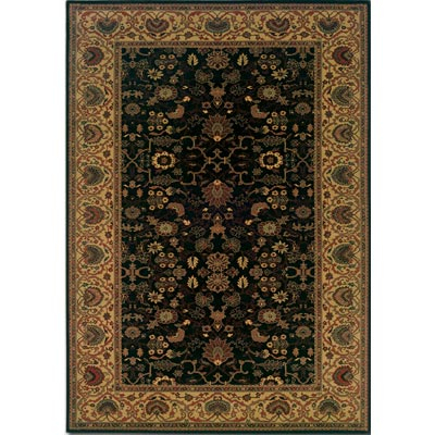 Couristan Everest 5 x 8 Tabriz Midnight 3773/4876