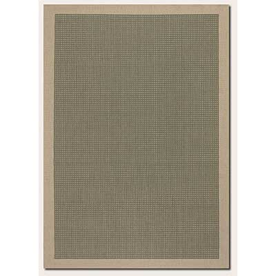 Couristan Five Seasons 2 x 8 Runner Aberdeen Green Cream 0202/0024