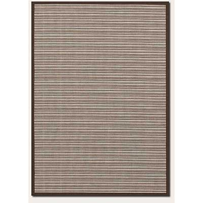 Couristan Five Seasons 5 x 8 Muskego Cream Chocolate Brown 3078/5291