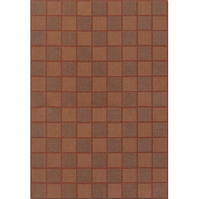 Couristan Five Seasons 9 x 13 San Marcos Natural Red 3081/6238