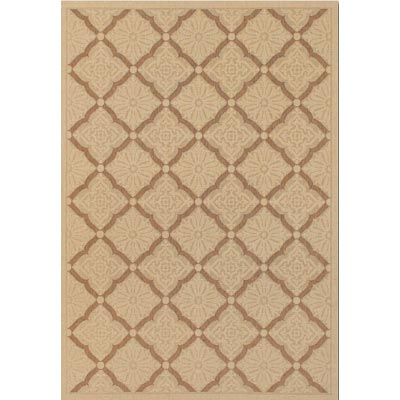 Couristan Five Seasons 9 x 13 Sorrento Cream Gold 3077/0019