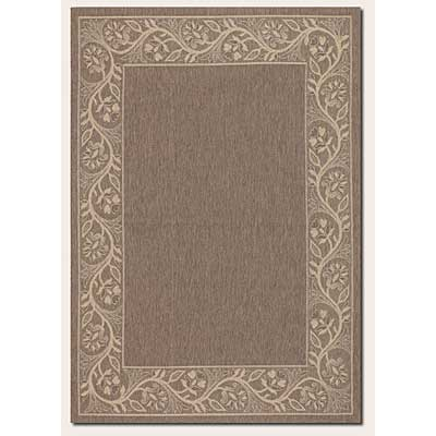 Couristan Five Seasons 9 x 13 Tuscana Brown Cream 0157/0022
