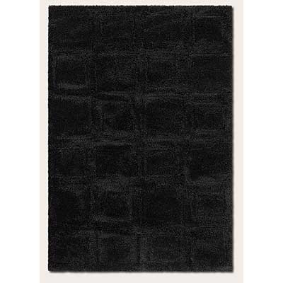 Couristan Focal Point 2 x 6 Runner Balance Black 2424/6074