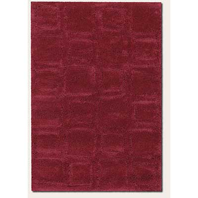 Couristan Focal Point 2 x 6 Runner Balance Red 2424/6078