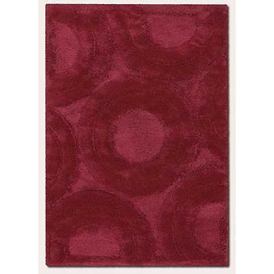 Couristan Focal Point 2 x 6 Runner Erosion Red 2636/6080
