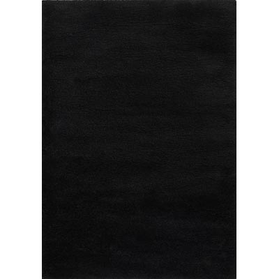 Couristan Focal Point 5 x 8 Solids Black 2236/6074
