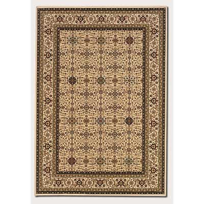 Couristan Himalaya 6 x 9 Imperial Yazd Antique Creme 6260/5000