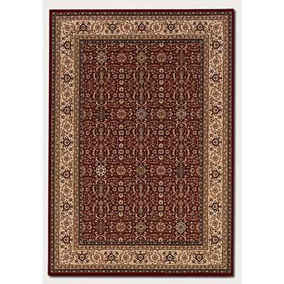 Couristan Himalaya 2 x 4 Imperial Yazd Persian Red 6260/4000