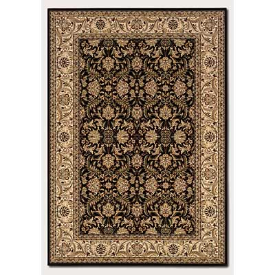Couristan Himalaya 2 x 8 Runner Isfahan Ebony Antique Creme 6259/1000