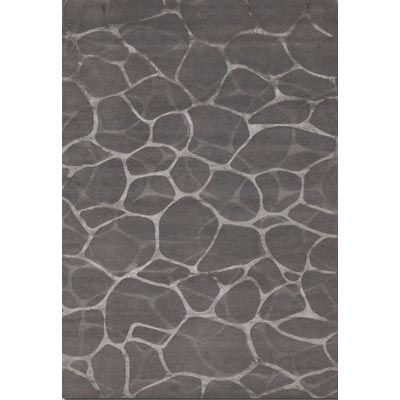 Couristan Impressions 8 x 10 Flagstone Grey Silver 8091/2045