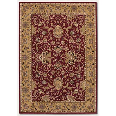 Couristan Izmir 5 x 8 Floral Bijar Persian Red 7016/0002