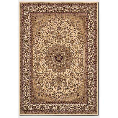 Couristan Izmir 8 x 11 Royal Kashan Cream 7010/0003