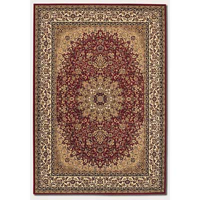 Couristan Izmir 5 x 8 Royal Kashan Persian Red 7010/0002