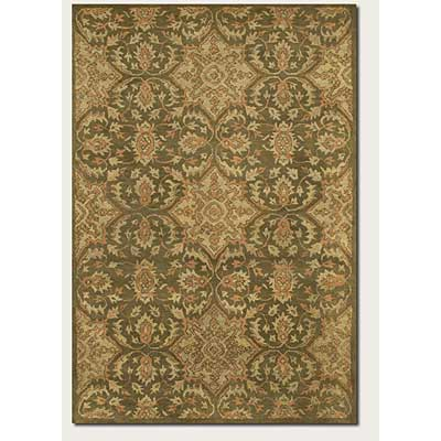 Couristan Jalore 8 x 11 Antique Bijar Wheat Sage 1735/0012