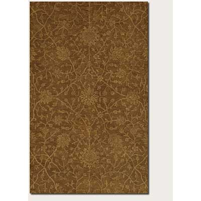 Couristan Jalore 8 x 11 Antique Sarouk Brown Sienna Camel 1750/6000