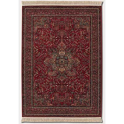 Couristan Kashimar 8 x 11 All Over Center Medallion Antique Red 0612/3337