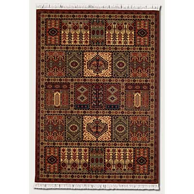 Couristan Kashimar 8 x 11 Antique Nain Burgundy 7886/1945