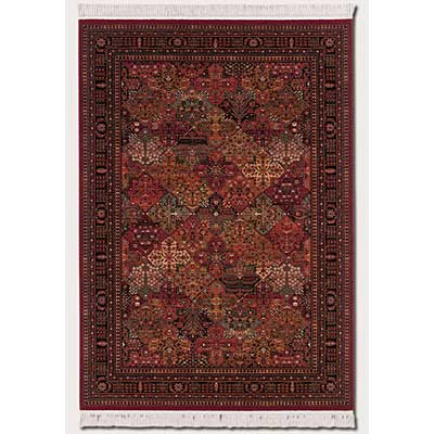 Couristan Kashimar 8 x 11 Imperial Baktiari Antique Red 8143/3203
