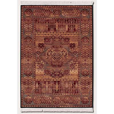 Couristan Kashimar 3 x 14 Runner Imperial Ferahan Brown Sienna Teal 0606/3300