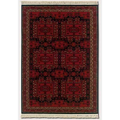 Couristan Kashimar 8 x 11 Oushak Brick Red 8415/2215