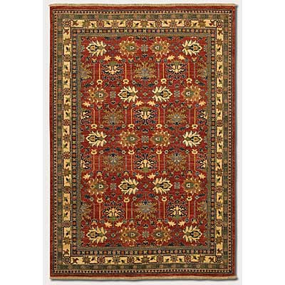 Couristan Lahore 4 x 6 Antique Kazak Reddish Clay 1266/2466
