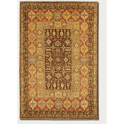 Couristan Lahore 4 x 6 Marasali Brown Rust 1164/0179