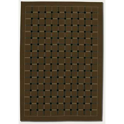 Couristan Marco Island 2 x 8 Runner Coffee 0168/0006