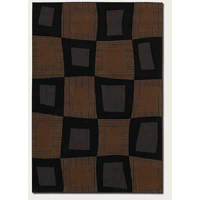Couristan Metro Collection 5 x 8 Atlantis Ebony 0160/0322