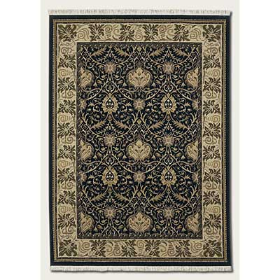 Couristan Mirage 4 x 6 Fantasia Black 9871/0030