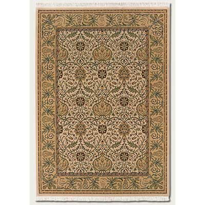 Couristan Mirage 8 x 12 Fantasia Ivory 9871/0083