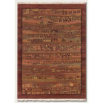 Couristan Mirage 3 x 8 Runner Petroglyph Plum 9915/0002