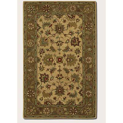Couristan Nomad 2 x 8 Runner Floral Arabesque Warm Beige Brown 2244/1810