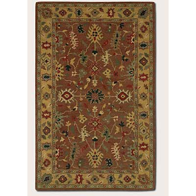 Couristan Nomad 2 x 8 Runner Floral Bijar Copper Cold 2254/2940