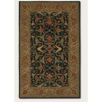 Couristan Nomad 2 x 8 Runner Malayer Black Peach 2255/3040