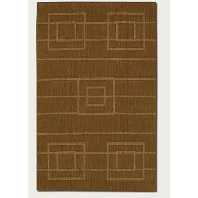 Couristan Nouveau 3 x 5 Thatched Natural Brown 3553/1104