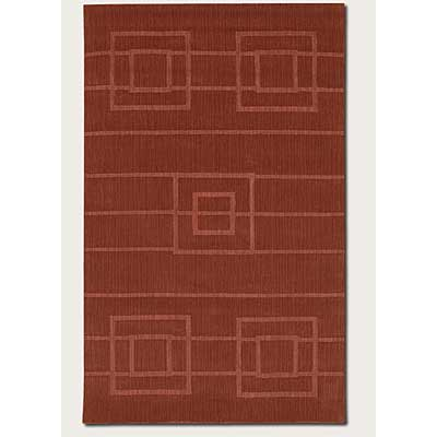 Couristan Nouveau 2 x 8 Runner Thatched Rust 3553/0125