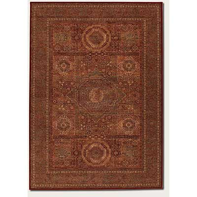Couristan Old World Classics 5 x 8 Mamluken Burgundy 1383/3890