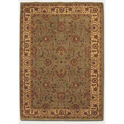 Couristan Orissa 6 x 8 Antique Ispaghan Sage Camel 8001/1122