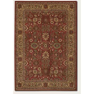 Couristan Pera 8 x 11 All Over Mashhad Crimson Fawn 2072/0005