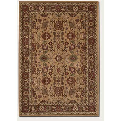 Couristan Pera 3 x 8 Runner All Over Mashhad Fawn Chocolate 2072/0505