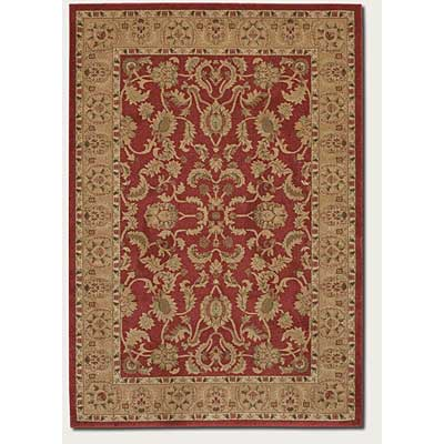 Couristan Pera 3 x 8 Runner Qum Crimson Latte 2075/0151