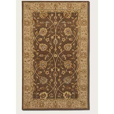 Couristan Persian Romances 8 x 11 Feraha Ivory Brown 1747/6133