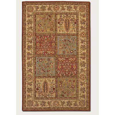 Couristan Persian Romances 3 x 5 Panel Bakhtiari 1844/6223