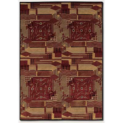Couristan Pokhara 10 x 13 Revelation Burnished Earthtones 9376/0055