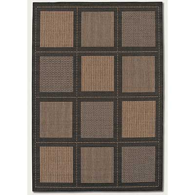 Couristan Recife 6 x 9 Summit Cocoa Black 1043/2500