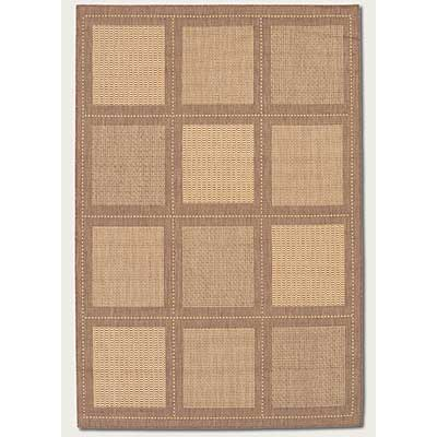Couristan Recife 8 Square Summit Natural Cocoa 1043/3000