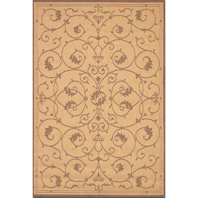 Couristan Recife 8 Square Veranda Natural Cocoa 1583/3000