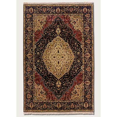Couristan Royal Imperial 10 x 14 Tabriz Navy 3900/0050