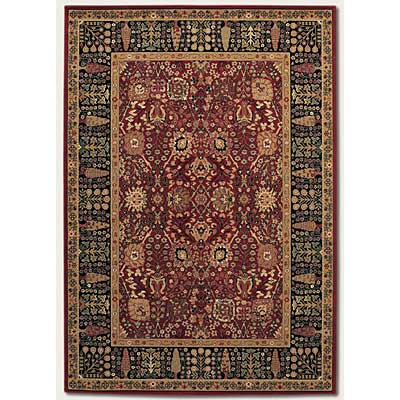 Couristan Royal Kashimar 7 x 10 Cypress Garden Persian Red 0621/2597